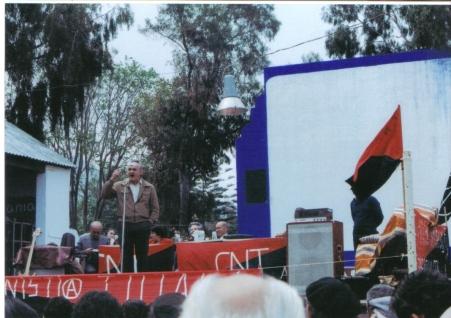 En un mítin en Andalucía
