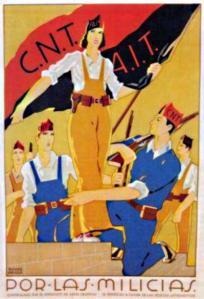 CNT cartel por las milicias