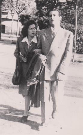 José Pareja Pérez y su compañero Clarita (Barcelona, 15 de abril de 1947)
