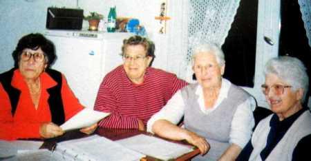 Pepita Carpena, Conchita Liaño, Sara Berenguer i Conchita Guillen
