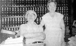 Ramon Sentís y su compañera