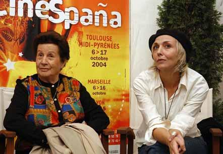 Rosa Laviña y Susana Koska el Festival Cinespaña (Toulouse, 2004)