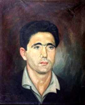 Retrato de Manuel Fornés Marín realizado por un compañero en la cárcel de San Miguel de los Reyes