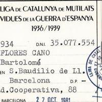Bartolomé Flores Cano (Vida y obra)