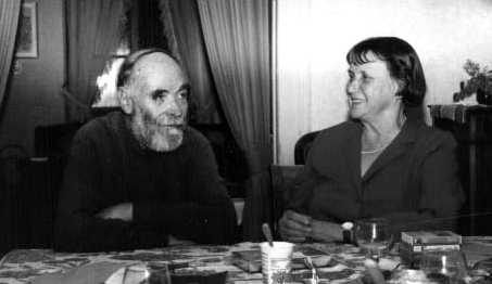 Marie-Christine y Stoyadin Mikhail (años ochenta)