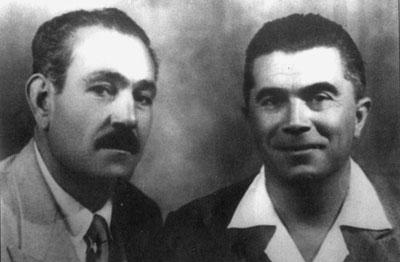 Arturo Messinese y Alfonso Failla (Taranto, 1947)