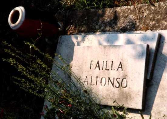 Tumba de Alfonso Failla